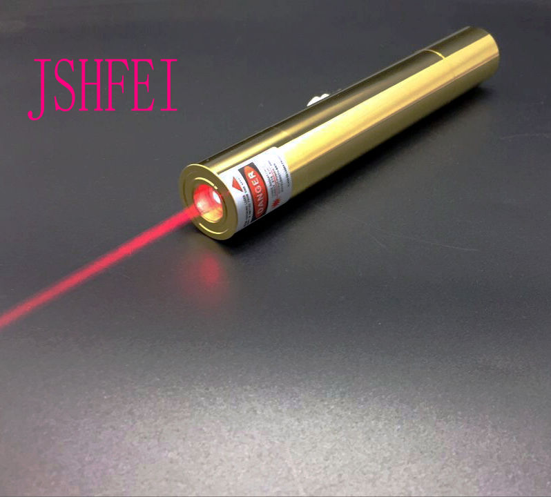 JSHFEI red  Laser Pointer Focusable Burning Match Lit Cigarette Pop Balloon  Cutting Black Plastic Set wholesale lazer<br><br>Aliexpress