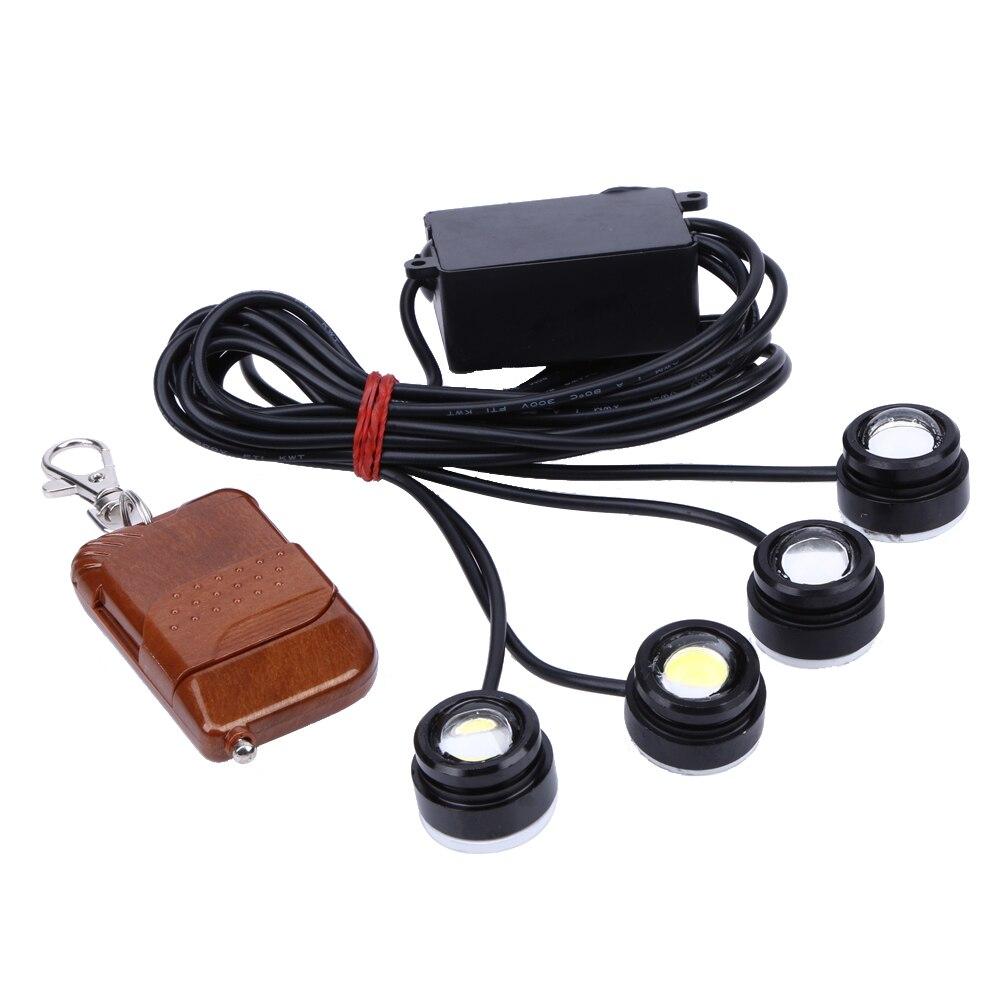 4Pcs Car Universal Fog Light Headlight 6000K 600lm Bright Car LED Fog Light <br><br>Aliexpress