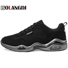 Buy Bolangdi New 2018 Hot Sale Sport shoes man Air cushion Running shoes men Outdoor Summer Sneakers men's Walking Jogging Trainers for $22.80 in AliExpress store