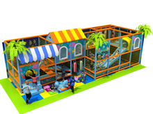 baby amusement playground equipment Nursery Kids Indoor Playground Equipment CE Certificated Kids Play Center(China)