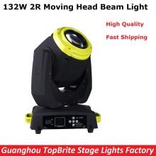 2017 New Arrival 1Pcs 132W Moving Head Stage Light Sharpy 2R 132W High Power Beam Light For Professional Stage Events Lighting
