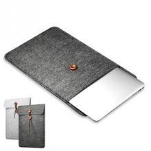 11 13 15 Inch Protective Laptop Bag Woolfelt Cover Case Sleeve for Macbook Air Pro Retina Laptop Case Cover