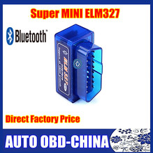 Works On Android Tourque Super ELM327 Mini Bluetooth OBD2 /OBD II Mini ELM 327 Bluetooth OBD2 V2.1 Auto Diagnostic Scan Tool
