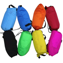 Ultralight Inflatable Air Couch Camping Portable Inflatable Bag Fast Inflatable Sleeping Air Bed Inflatable Sleeping Lazy Bag
