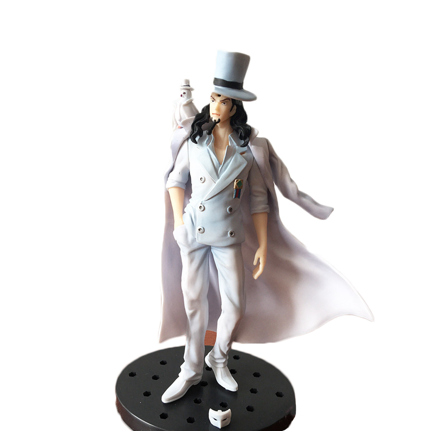 Chanycore Anime ONE PIECE GOLD Ver onepiece NEW WORLD PVC Action Figures 16CM CP9 Rob Lucci collect model toys<br><br>Aliexpress