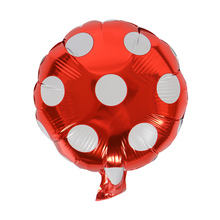 Helium Balloon Dot Large Aluminum Foil Balloons Inflatable gift Children's Birthday baloon Party Decoration Ball 10 inch