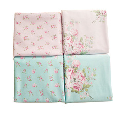 Slanting 100% stripe cotton baby bedding baby cloth handmade diy victoria rose fabrics(China)
