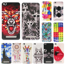Fashion Cover For Xiaomi Redmi 4A Case Soft Silicone Colour Pattern Painting Back Cover For Xiaomi Redmi4A Redmi 4A Phone Cases