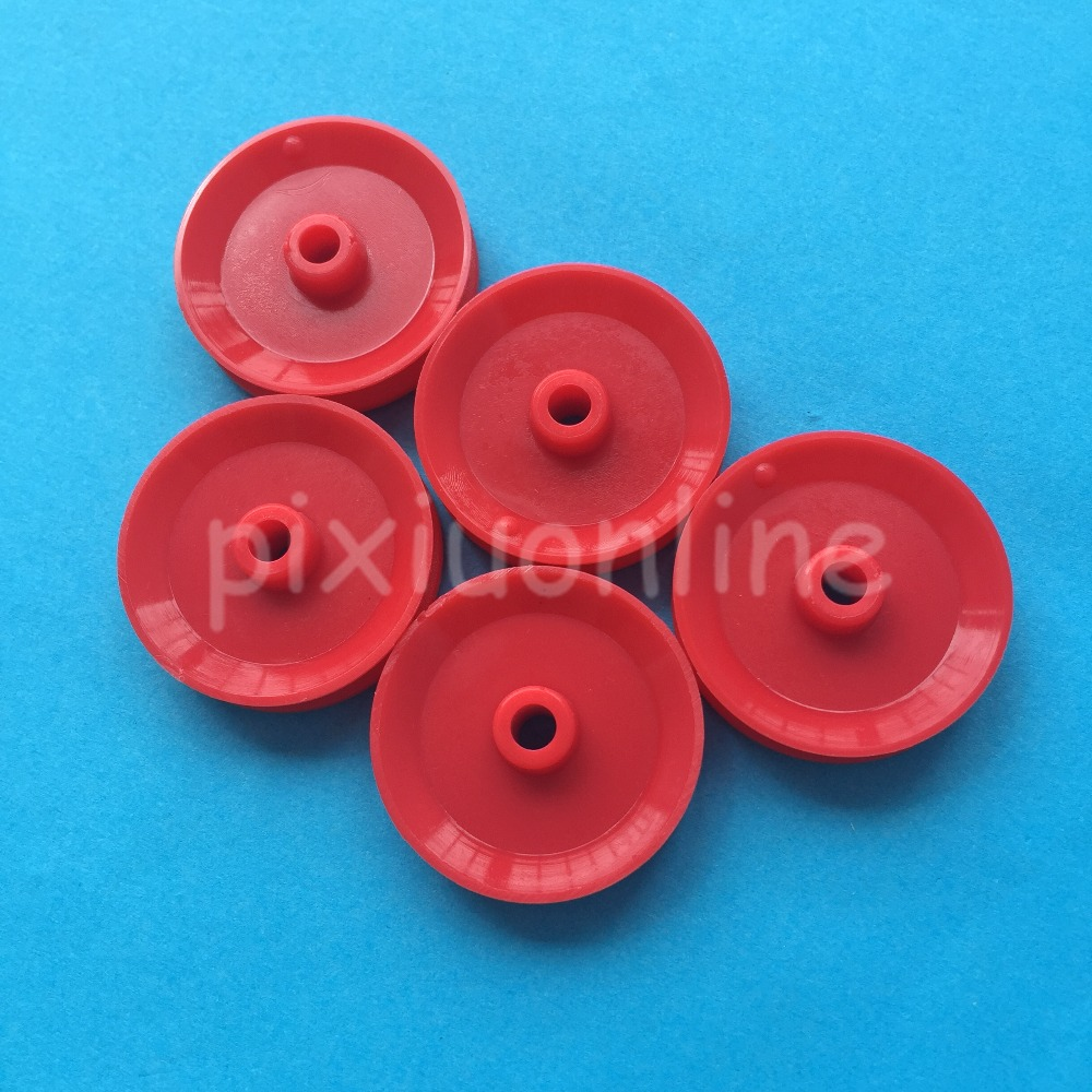 2pcs 29mm Synchronous Belt Plastic Pulley Wheel for DIY Toy Car Accessories