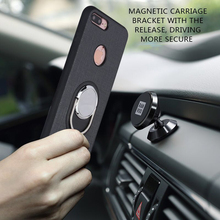 Phone Case for iPhone 7 6Plus multifunctional Protective Back Cover for iPhone 5S 6 With Magnet Car Holder and Phone Stand Case
