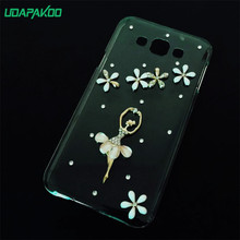 3D bling diy luxury diamond crystal case cover for samsung Galaxy E7/J7 2016/J5 2016/J1 2016/C5 C5000 phone case cover