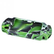 Hot Selling Popular High Quality Camouflage Silicone Protective Case Skin cover for PSP 3000/2000 Free shipping