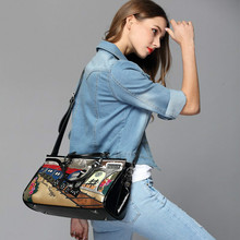 Train embroidery Fashion Women Shoulder Bag Italy Handbag Luxury brand casual Handmade Stylish Woman Messenger Bags top quality