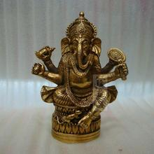 Tibetan Buddhism, Tantra, Ganesha, Geneisha, elephant headed God, Statue, buddha figure, figurine, God of victory~