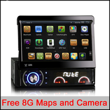 Universal Quad Core Android Car DVD 1 DIN Car Video Player WIFI GPS Navi Handfree Call Car DVD Del Coche In-dash NO Tax NO VAT