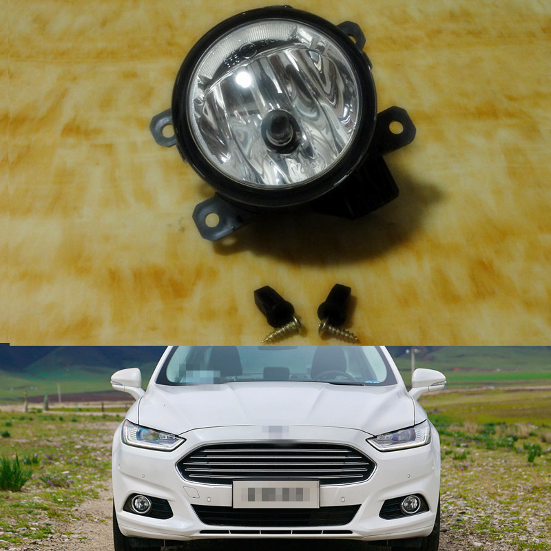 1piece Front Driving fog lights lamp clear lens LH=RH for Ford Mondeo/Fusion 2013-2015<br><br>Aliexpress