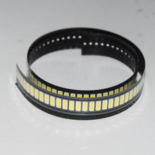 100pcs 7030 SMD LED High Power Cold White Diode 90LM 6V TV Television Backlit Super Bright Diodo LED SMD 7030 Cool White(China)