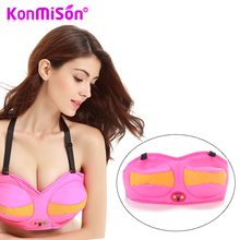 KONMISON Breast Enlargement Vibrating Massage Bra Breast Firming Enhancer Nipple Massager Vibrator Therapy Device Women Beauty(China)