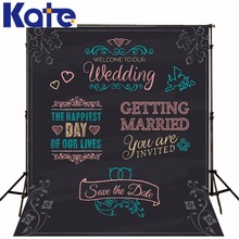 Wedding Special Photographic Background Customise size made Backgrounds for Photocall Wedding(China)