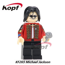 Single Sale Custom Halloween Michael Jackson Thriller Zombie Power-man Nova Building Blocks Super Heroes Toys for children KF265