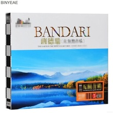 BINYEAE- new CD sealing: BANDARI piano music pure natural light music vinyl car 3CD disc [free shipping](China)