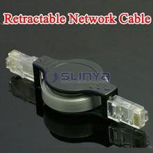 5 FT Retractable LAN Ethernet Cable RJ45 Cat5 Network Cable