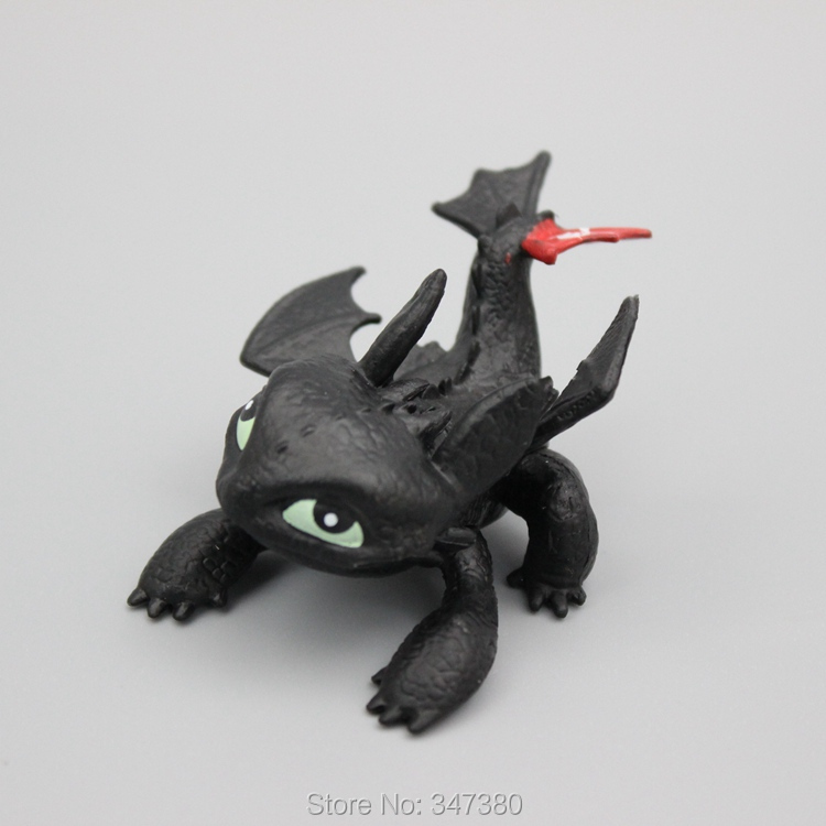 Dreamworks How to Train Your Dragon Toys 5cm Toothless Model Night Fury Fire Dragon Action Figures Toys<br><br>Aliexpress