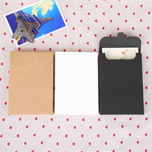 10.8*15.5+1.5cm Kraft Paper Box Envelopes for Invitation Card Letter Packaging Gift Greeting Card Postcard Photo Boxes