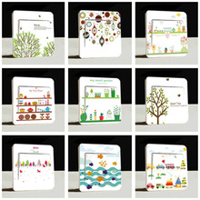 1x Cute Switch Panel Cover Stickers Light Decals Room Vinyl Art Murals Home Decor 10 Styles
