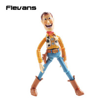 Toy Story Woody Series NO. 010 Sci-Fi Revoltech Special PVC Action Figure Collectible Toy DSFG189(China)