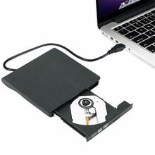 Good Sale Slim External USB 3.0 DVD RW CD Writer Drive Burner Reader Player For Laptop PC Feb 22(China)