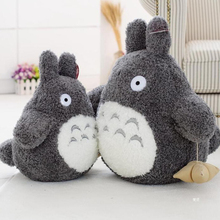 1pc 16cm-40cm Cartoon Lovely Style Plush Totoro Toys Stuffed Baby Doll Cute Movie Character Children Birthday Gift Toys(China)