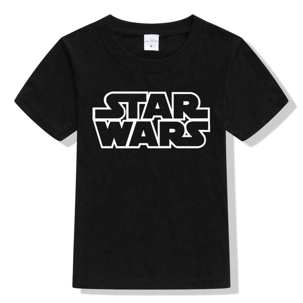 17 movies Star Wars children boys t shirt kids Star Wars Printed shirt kids clothes boys t-shirt top children clothing enfant 5