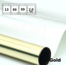Free Shipping 1.52*30M Car Window Tint High Quality Building Office Glass Window Tint Film Roll Heat Reflective Solar Film