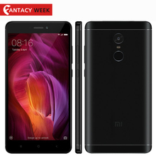 "Original Xiaomi Redmi Note 4 Qualcomm 3GB 32GB Global Version Snapdragon 625 Mobile Phone 5.5"" FHD 13MP Fingerprint ID MIUI 8.2"