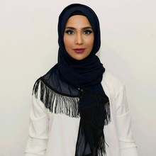New Luxury Brand Scarf For women Islamic Muslim Inner Hijab Caps Diamond Scarves Solid Skull Head Wrap Sjaal