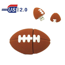 American Football Pen drive Sports Rugby U Disk 4GB 8GB 16GB 32GB USB Flash Drive Memory Stick Pendrive gift real capacity(China)