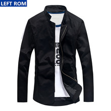 Jacket Men 2017 New Fashion Business Casual Male Coat Boy Best Hot Shirt Size S-3XL Popular cool choice Top good Simple design(China)