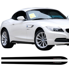 Buy 2 pcs M Sport Performance Side Skirt Sill Stripe Vinyl Decal Stickers BMW Z4 E85 E86 E89 5D Carbon Fibre Vinyl Accessories for $18.50 in AliExpress store