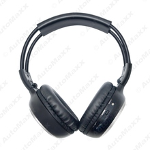 Car DVD Stereo 2 Dual Channel Audio IR Infrared Wireless Music Foldable Earphone Headphone #J-2447