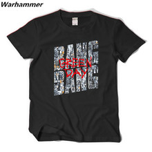 Green Day Fans New Trending Tshirt Men Bang Bang Style Punk Band Casual Fit Tee Shirt Homme Cotton Print XXL Black Camisetas Top