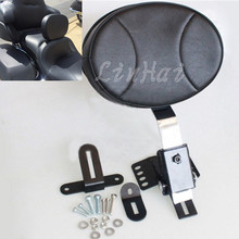 Motorcycle Adjustable Plug In Driver Rider Backrest For Harley Davidson Touring models 1997-2016(China)