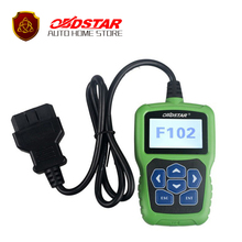 New OBDSTAR F102 For Nissan/Infiniti Auto key programmer Automatic Pin Code Reader with Immobiliser and Odometer Correction tool