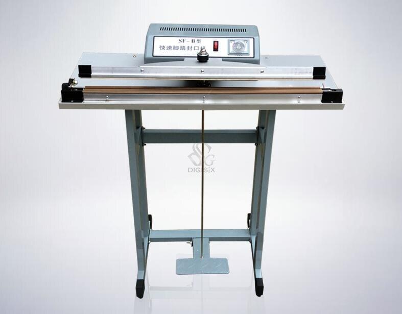 Чувствительное простое запечатывание типа педали SF-500 и продовольственный чайный пакетик полиэтиленового пакета металлорежущего станка быстрая упаковочная машина