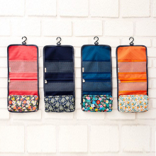 Special offer Hanging Travel Toiletry Organizer Cosmetic Makeup Storage Bag Floral Bag with Zipper