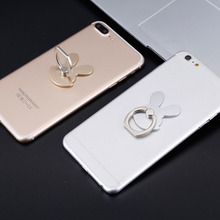 Rabbit Design Phone Holders 360 Degree Metal Finger Ring Mobile Phone Smartphone Stand Holder For iPhone for Samsung Smart