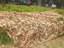 5X10ft Desert Camouflage Net netting in hunting Car camo cover Camping tent Military photograph clube party decoration