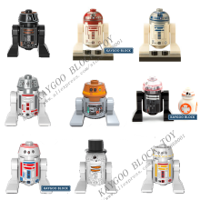 Star Series Space Wars R2-D2 Robot Sale C3POBB8 R3-D5 R3D5 Reindeer R2D2 Building Blocks Force Awakens Models Toys(China)
