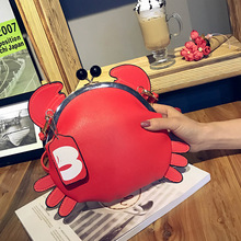 Cute Gift Girls Crab Bag Unique Design Ladies Chains Animal Messenger Bag Women Messenger Bag Crossbody Shoulder Bag Sac A Main