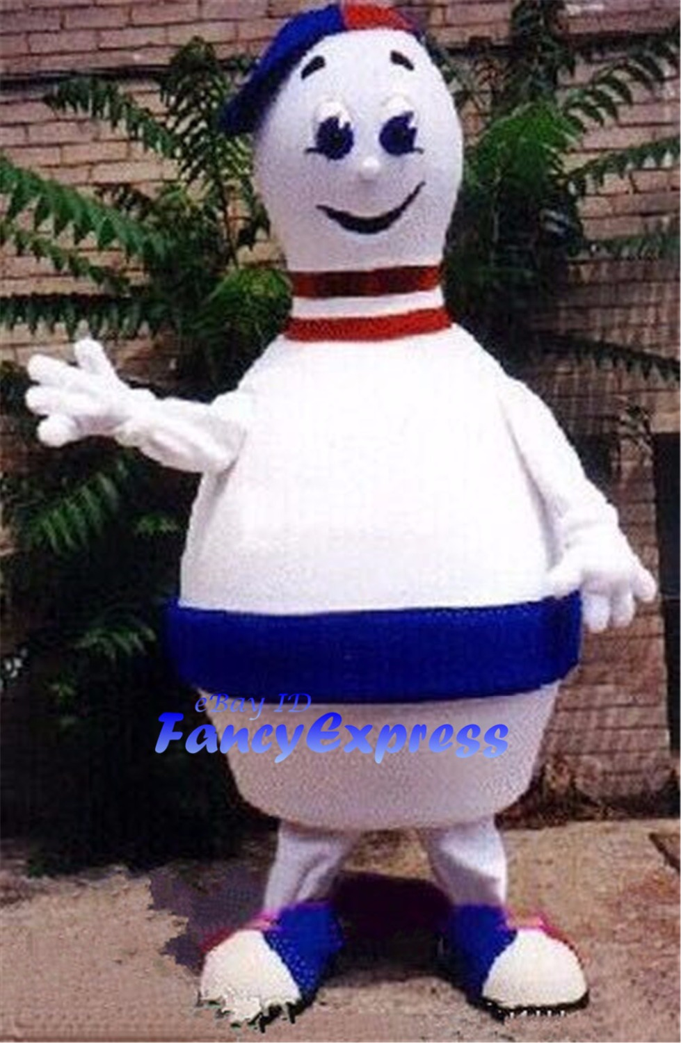 Bowling Ball Mascot Costume Birthday Party Fancy Cosplay Dress Halloween Party Performance Outfit Suit Adult Size